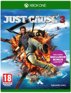 Just Cause 3 with Bloodhound RPG - Only at GAME  Xbox One Cover Art
