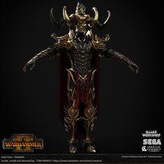 Warhammer 2 character art