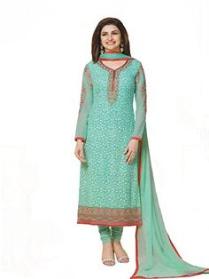 Grapsy Fashion Women's Georgette Semi Stitched Salwar Suit (prachi light green_Multi-coloured) - http://www.zazva.com/shop/women/grapsy-fashion-womens-georgette-semi-stitched-salwar-suit-prachi-light-green_multi-coloured/ Top : Georgette Bottom : Santton Dupatta : Najneen