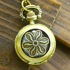 Flower Pocket Watch