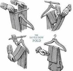 The Savile Row Fold