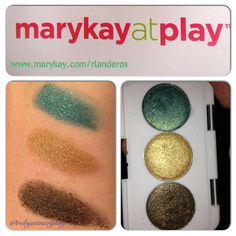 Mary Kay at Play palette. $10 beautiful colors.  www.marykay.com/rlanderos