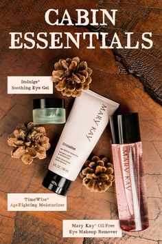 Where are you headed this weekend? Fall is fast upon us. Stock up on your Mary Kay must have before you head to the cabin. Contact me today.