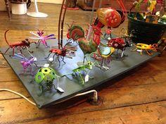 Garden #Metal #Art Sculpture Critters for sale at Troll Hole Art Emporium