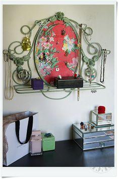 Porte bijoux by Custom' Bricol'
