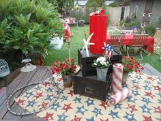 2013 4th of July table