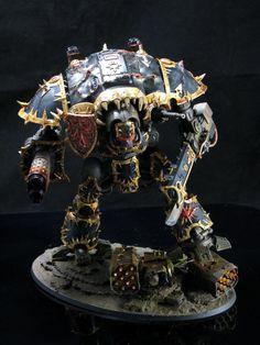 Black Legion, Chaos, Chaos Space Marines, Knights