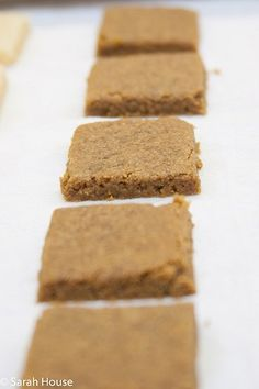 Checkout this recipe for Rye Shortbread Cookies I found on BobsRedMill.com