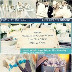 Chic Wedding, Wedding Ideas, Love Is Sweet, Athens, Type 3, Shabby Chic, Events, Inspirational, Facebook