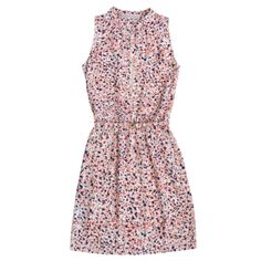 Robe en soie imprimée 420 $ @Gerard Darel Printed Silk Dress
