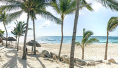 Doesn't this look like paradise? Beautiful beach @mahekal_beach_resort - Mexico -  iPhone Re-post by Hold With Hope