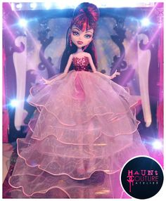 Monster High Lagoona Draculaura Pink Princess prom dress on Etsy, $23.00