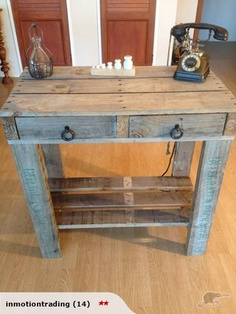 SIDE BOARD MADE FROM PALLETS -
