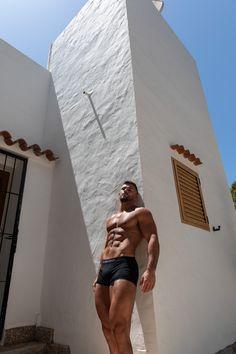 Yeti by Alexis Salgues wearing RICHARD DAYHOFF athleisure. @yetifit__ @alexsphotographe #alexsphotographe #frenchphotographer #fashionphotographer #underwearmodel #fitnessmodel #malemodel #fitness #menshealth #malebeauty #ibiza #spain Ibiza Spain, French Photographers, Male Beauty, Athleisure, Male Models, Fitness Models, Underwear, Celebs, Swimwear