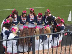 Prayer before the game!
