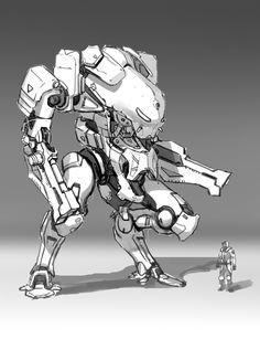 mache sketch, xiang zhang on ArtStation at https://www.artstation.com/artwork/e3B0X