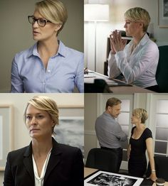Claire Underwood - I vote for her hair.