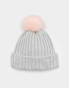 760829985c2 Pop-a-pom OAT Bobble Hat