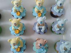 Cupcakes ursinhos