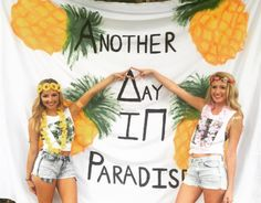 Think about how bomb you'll look and feel when your bid day theme comes together. Sorority Bid Day, Sorority Sugar, Sorority Life, Sorority Recruitment Themes, Sorority Sisters, Sorority Crafts, Tri Delta, Delta Zeta, Alpha Sigma Alpha