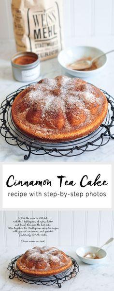 nice Cinnamon Tea Cake