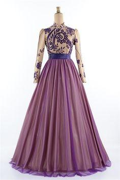 Ayşe Melek Tarlatanlı Abiye Elbise Gold 1090