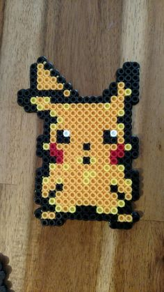 Pikachu created by Bubbi