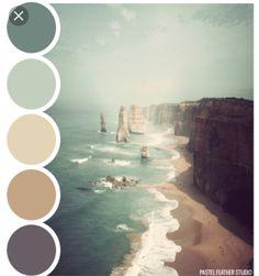 Pastel Feather Studio: BEACH PALETTE - color palette ►more find here: pastefeatherstudi. Pastel Feather Studio: BEACH PALETTE - color palette ►more find here: pastefeatherstudi. Wall Colors, House Colors, Colours, Beach Paint Colors, Neutral Colors, Color Palate, Sage Color Palette, Ocean Color Palette, Pastel Colour Palette