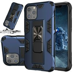 For iPhone 11 Pro 6 6s 7 8 Plus XS Max XR X Case Kickstand Shockproof Ring Cover  - Floral Iphone Case #FloralIphoneCase Iphone 11, Iphone Cases, Floral Iphone Case, I Phone Cases, Iphone Case