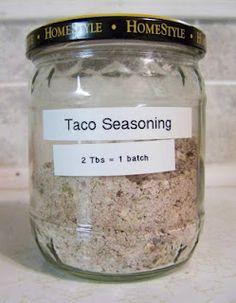 Taco Seasoning (Mine)