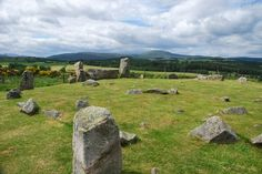 Tomnaverie Stone Circle and Drummy Wood, Tarland (Walkhighlands)