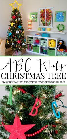 ABC Kids Christmas Tree