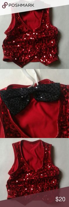 Tap/Jaz Toddler Boy Dance Costume- Size XSC/2-3T NWOT Tap/Jaz Toddler Boy Dance Costume - Size XSC/ 2T -3T.  Set comes withe the stunning red vest and black neck bow tie.  I purchased this for my son's recital however, he got sick and was not able to participate. NWOT. weissman Costumes Dance