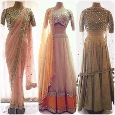 By designer Arpita Mehta. Bridelan- Personal shopper & style consultants for Indian/NRI weddings, website www.bridelan.com #ArpitaMehta #WeddingLehenga #Bridelan #BridelanIndia.