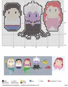 Cross Stitching, Cross Stitch Embroidery, Embroidery Patterns, Cross Stitch Patterns, Peyote Beading Patterns, Perler Patterns, Plastic Canvas Ornaments, Plastic Canvas Crafts, Plastic Canvas Stitches