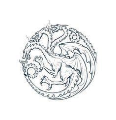 of thrones House Targaryen Logo SVG Targaryen House Logo Dragon SVG Vector Cut File for Cricut -Game of thrones House Targaryen Logo SVG Targaryen House Logo Dragon SVG Vector Cut File for Cricut - Game Og Thrones, Game Of Thrones Houses, Game Of Thrones Sigils, Game Of Thrones Drawings, Game Of Thrones Tattoo, Logo Dragon, Dragon Art, Tatuagem Game Of Thrones, Dragons Tattoo