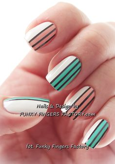 www.funkyfingersfactory.com #nail #nails #nailart