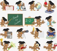 No trimestre, A Escola, A AprendizagemPNG e Vector