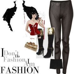 """Bad girl style""  by terresekopp on Polyvore"