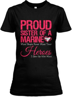 Just ordered mine! :) HURRY Marine Sister shirt sale ENDS SOON.. 3 hours!! Get yours now :)
