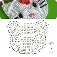 Hello kitty crochet purse diagram ~ Crochet Knit Tote Bags Back Packs Hobo Bags Purse Handbags - Tap the link now to see all of our cool cat collections! Hello kitty crochet avec schéma ~~ someone teach me Spanish! i do not like hello kitty, but i know s Chat Crochet, Crochet Cat Toys, Crochet For Kids, Crochet Gifts, Crochet Hello Kitty, Hello Kitty Purse, Purse Patterns, Knitting Patterns, Crochet Patterns