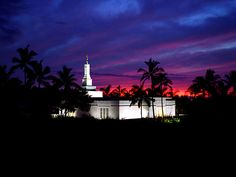 Kona Hawaii Temple of The Church of Jesus Christ of Latter-day Saints.#LDS #Mormon #Temple