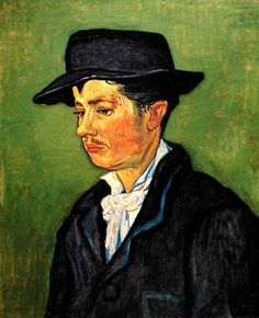 Vincent Van Gogh - Post Impressionism - Arles - Portrait d'Armand Roulin
