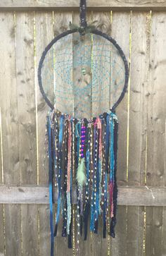bohemian chic, hippie, indian dreamcatcher wall hanging, wall art, wall decoration by Lovemyartfarm on Etsy https://www.etsy.com/listing/241376720/bohemian-chic-hippie-indian-dreamcatcher