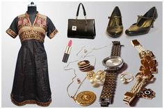 #Accessories Every Girl Should Own Every dress is especially crafted to go with a particular accessory. Hence, #designer accessories are quite in vogue these days. The accessories that carry a brand logo are known as 'designer #accessories'. Indian Formal Wear, Indian Ethnic Wear, Latest Jewellery Trends, Jewelry Trends, Middle Aged Women, Smart Outfit, Current Fashion Trends, Bold Fashion, Signature Style