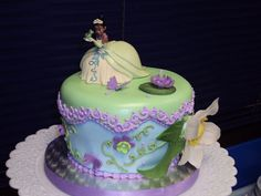 tiana birthday cake | Pin Cakes Tiana Princess Birthday – Pictures Of Cake on Pinterest