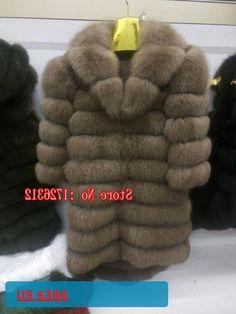 2017 new style natural female warm fox fur coat genuine fox fur garment fox fur overcoat natural long fur outwear sleeve