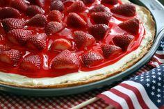 Strawberry Dessert Pizza