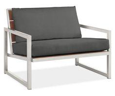 "Room & Board - Montego 42"" Lounge Chair Cushions"
