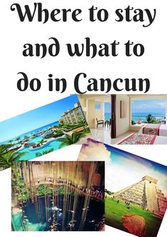 LOVED these places. Where to stay and what to do in Cancun, Mexico!! Now Jade All-inclusive resort.  Xplor adventure park.  Chichen Itza.